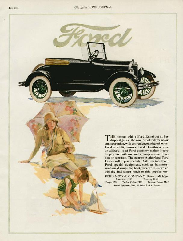 Ford Runaboat, 1926