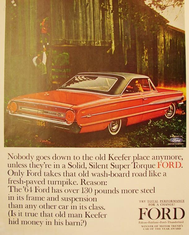 Silent Super Torque Ford, 1964