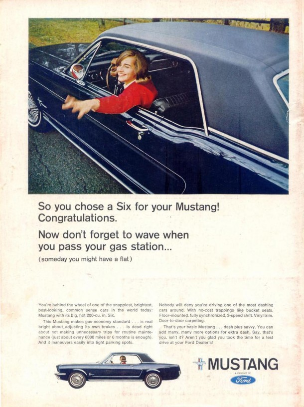 So you chose a six for your Mustang! Congratulations, 1966