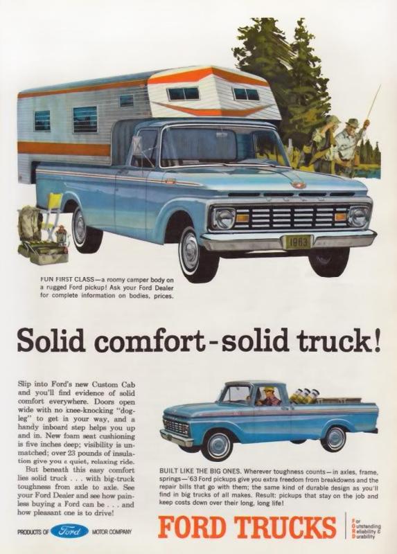 Solid comfort-solid truck!, 1963