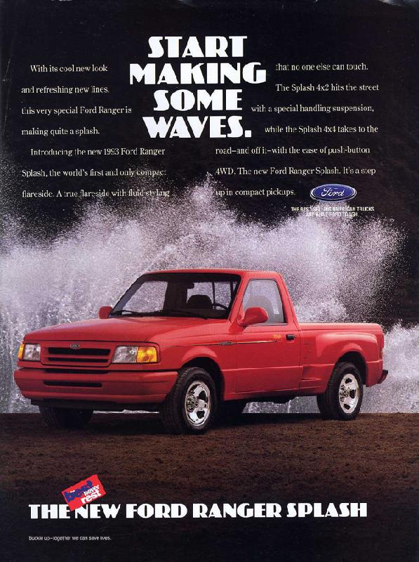 Ford Magazine Ads From 1990s