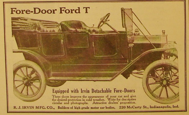 Ford T Fore-Door, 1912