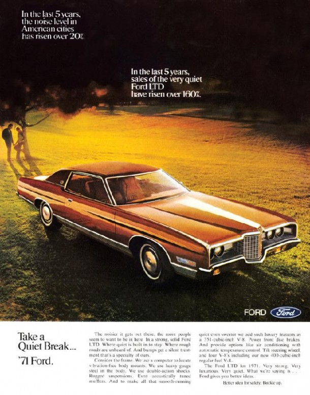 Take a quiet break... '71 Ford, 1971