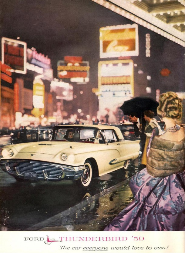 Ford Thunderbird '59, the car everyone would love to own!, 1959