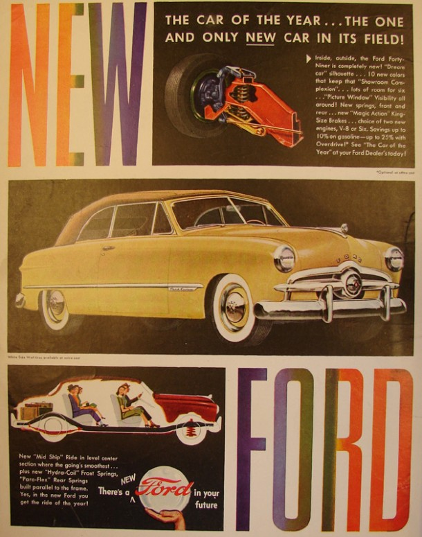 The car of the year.. the one and only new car in its field!, 1948