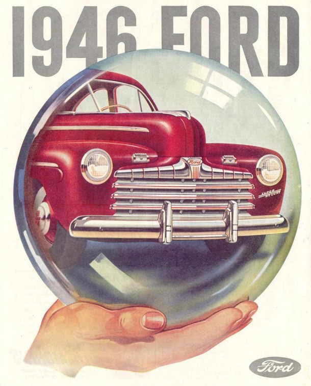 There's a Ford in your future!, 1945