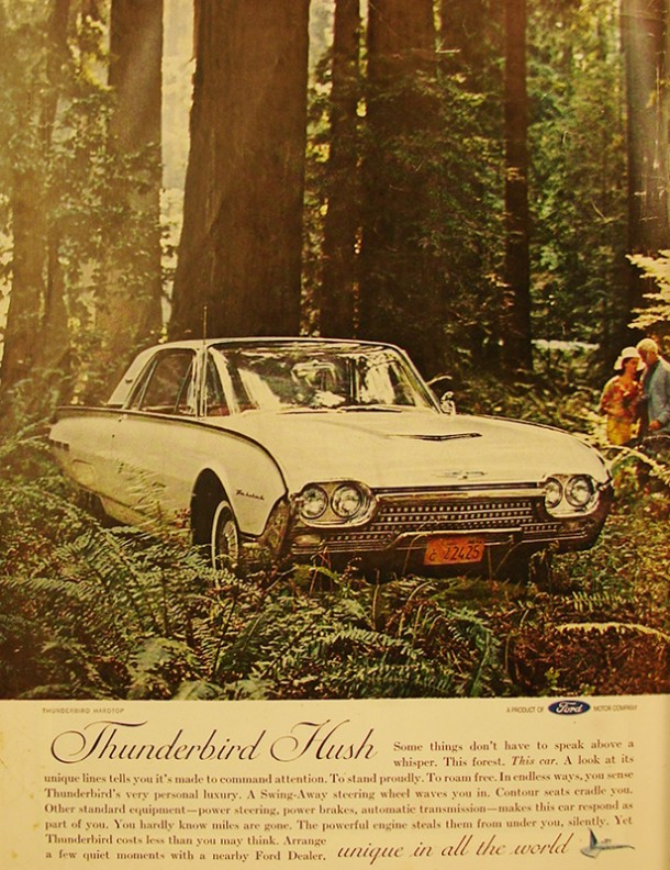 Thunderbird hush unique in all the world, 1962