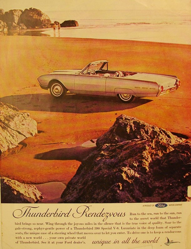 Thunderbird rendezvous unique in all the world, 1962