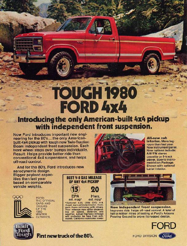 Tough 1980 Ford 4x4, 1980
