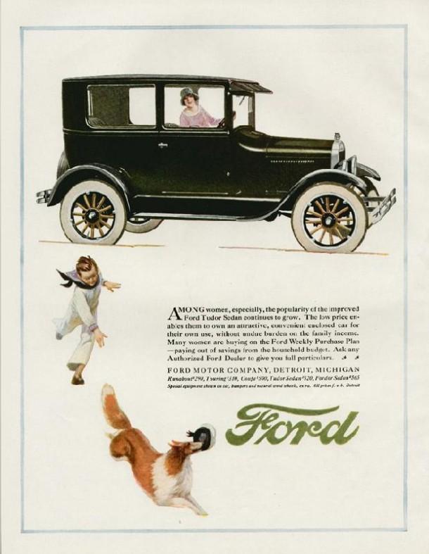 Ford Tudor Sedan, 1926