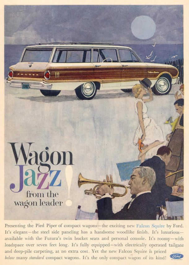 Wagon Jazz from the wagon leader!, 1962