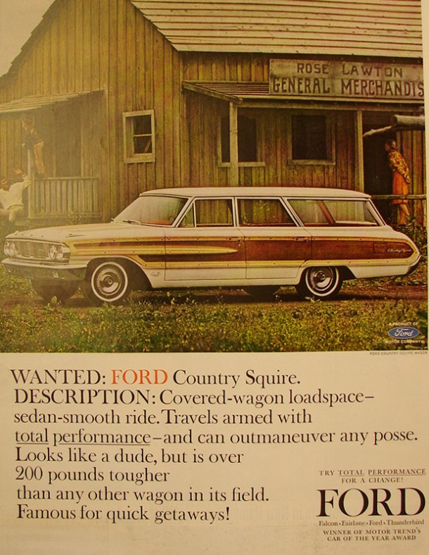 Wanted: Ford Country Squire, 1964