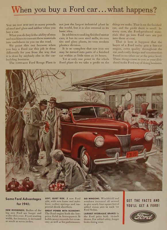 When you buy a Ford car... what happens?, 1941