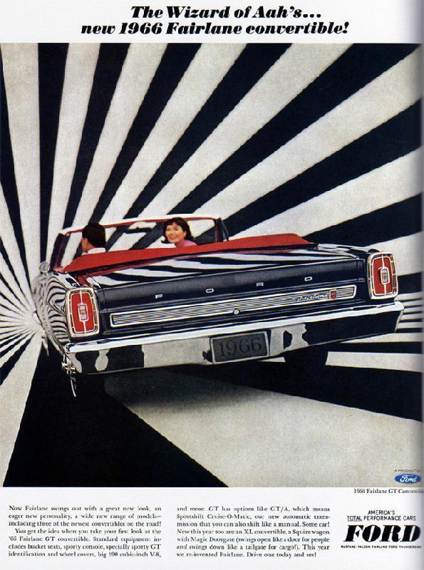 The wizard of Aah's... new 1966 Fairlane convertible!, 1966