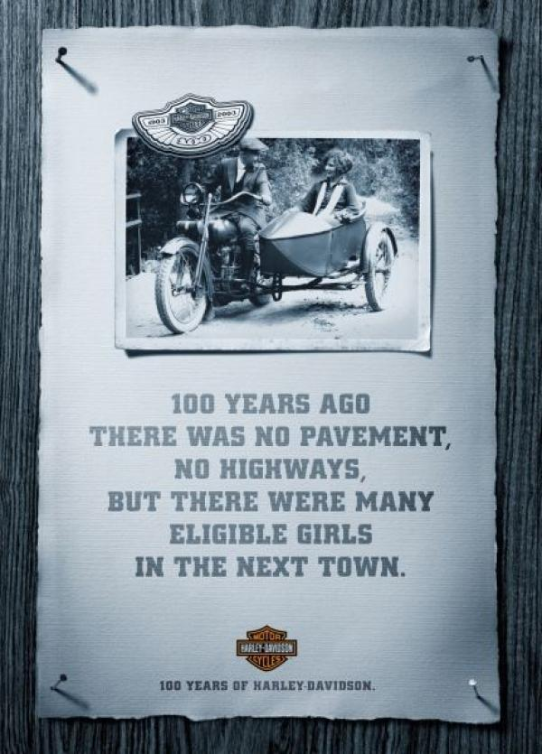 100 years ago there was no pavement, no highways, but there where many eligible girls in the next town, 2004