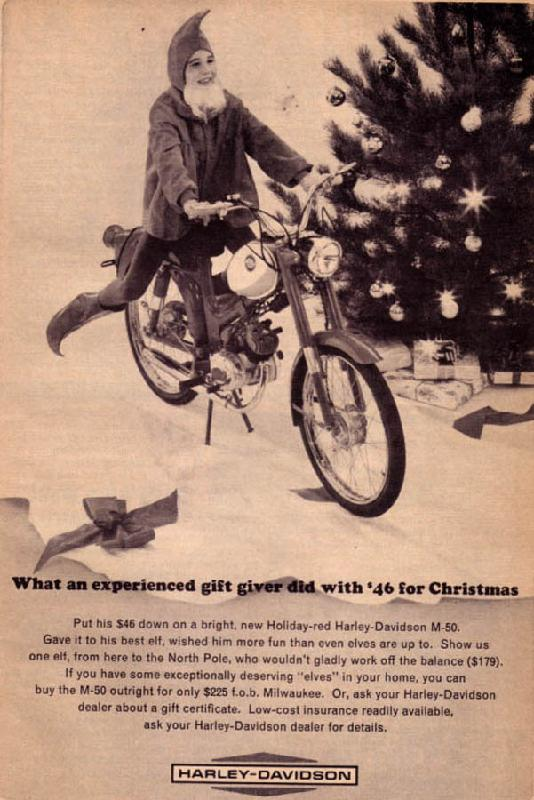 What an experienced gift giver did with '46 for Christmas, 1964