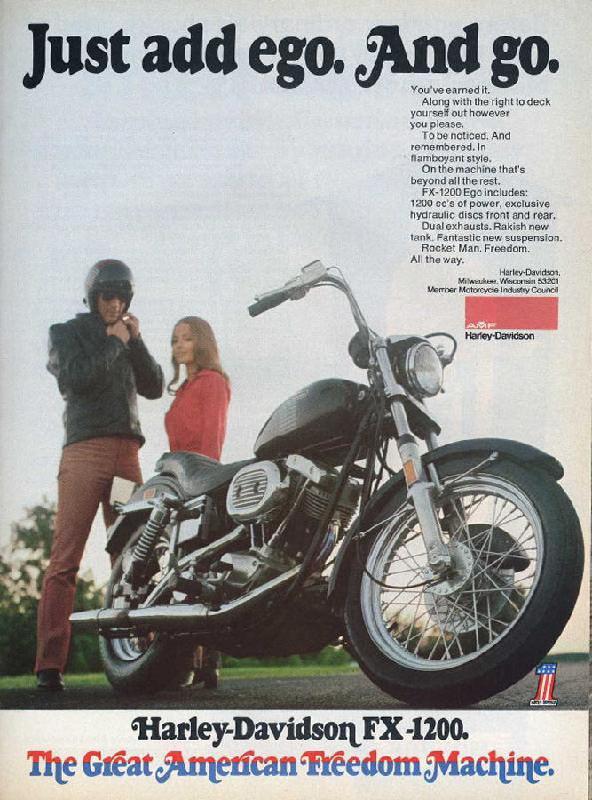 Harley-Davidson FX-1200, 1973