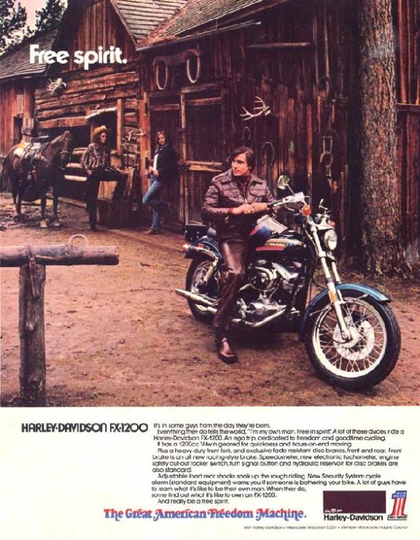 Harley-Davidson FX-1200, 1974