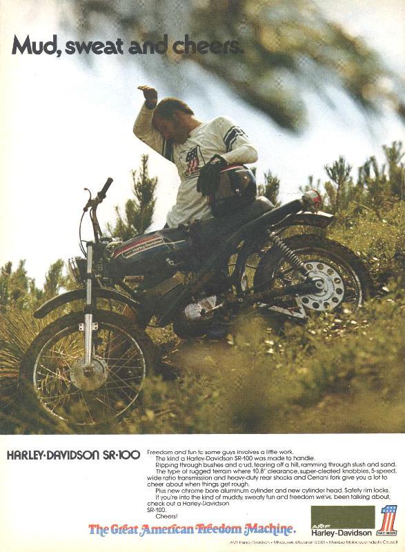 Harley-Davidson SR-100, 1974