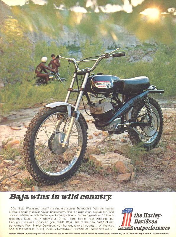 Baja wins in wild country, 1971