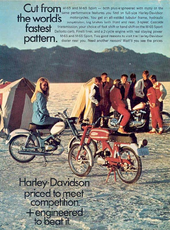 Cut the world's fastest pattern, 1968