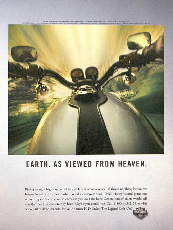 Earth. As viewed from heaven, 1999