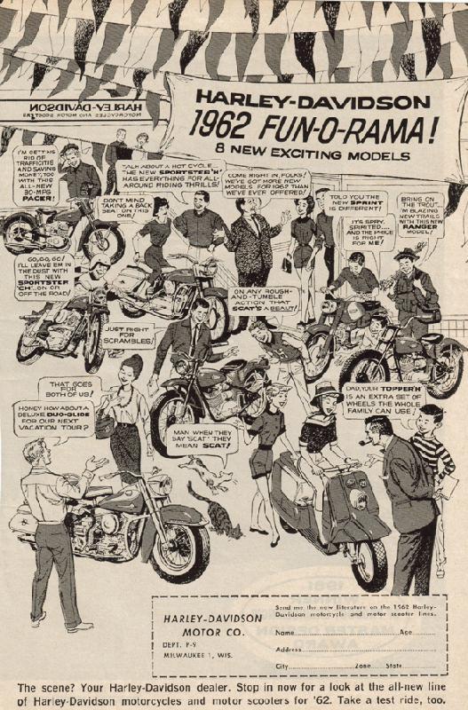 Harley-Davidson 1962 FUN-O-RAMA!, 1962