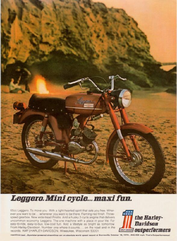 Leggero Mini cycle... maxi fun, 1971
