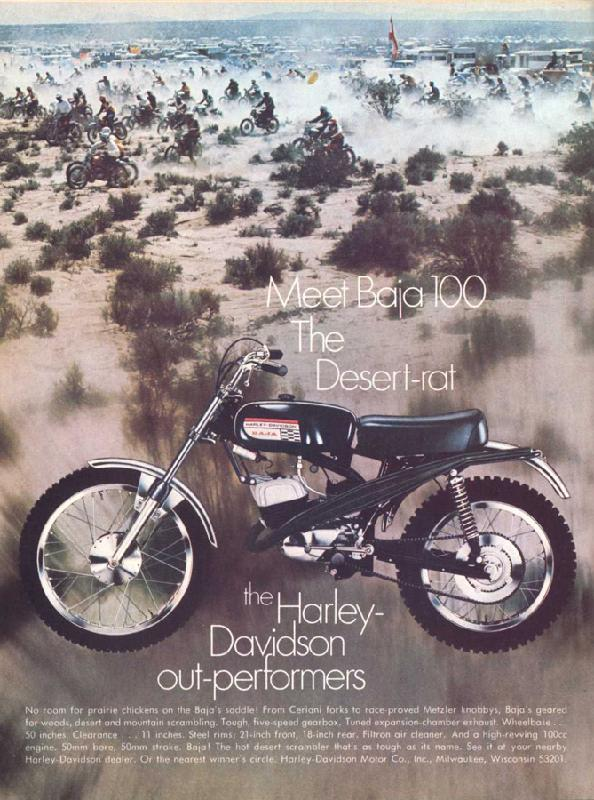 Meet Baja 100 The Desert-Rat, 1970