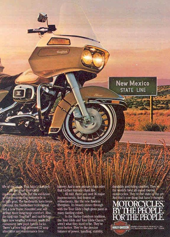 Motorcycles by the people for the people, 1982
