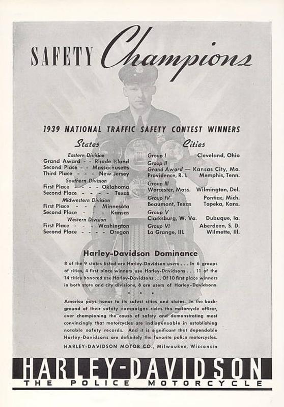 1939 National traffic safety contest winners, 1940