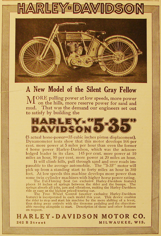 A new model of the silent gray fellow, 1912