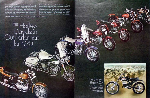 The Harley-Davidson Out-Performers for 1970