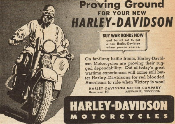 Proving ground for your new Harley-Davidson, 1943