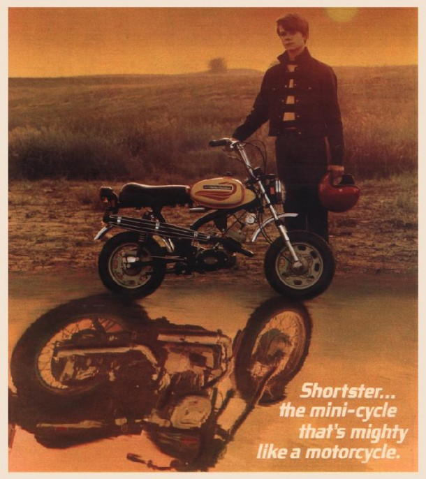 Shortster... the mini-cycle that's mighty like a motorcycle, 1972