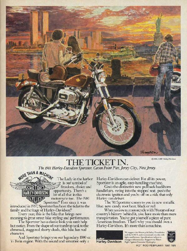 The 1981 Harley-Davidson Sportster