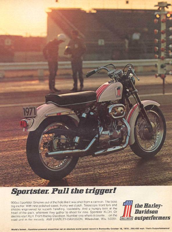 Sportster. Pull the trigger!, 1971