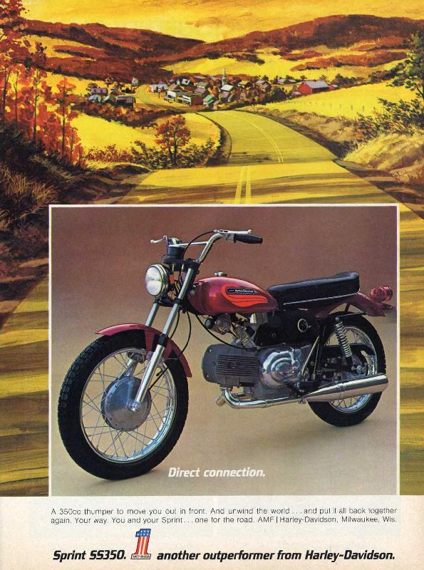 Sprint SS350 another outperformer from Harley-Davidson, 1972
