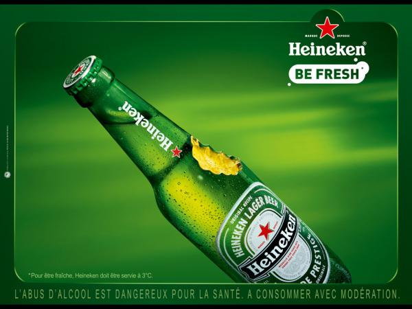 "Heineken Beer: ""Apple bottle"", 2008"
