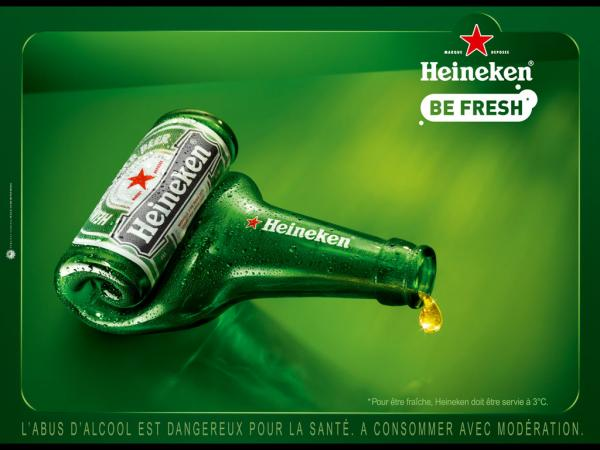 "Heineken Beer: ""Empty bottle"", 2008"