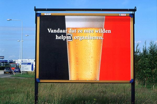 Heineken: Belgium flag, 2001