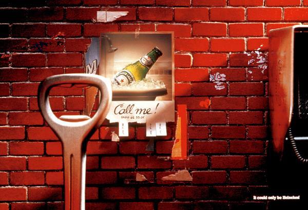 Heineken: Call me, 2001