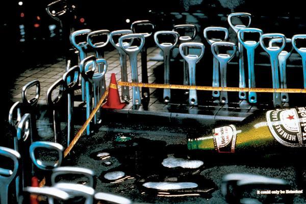 Heineken: Crime scene, 2001