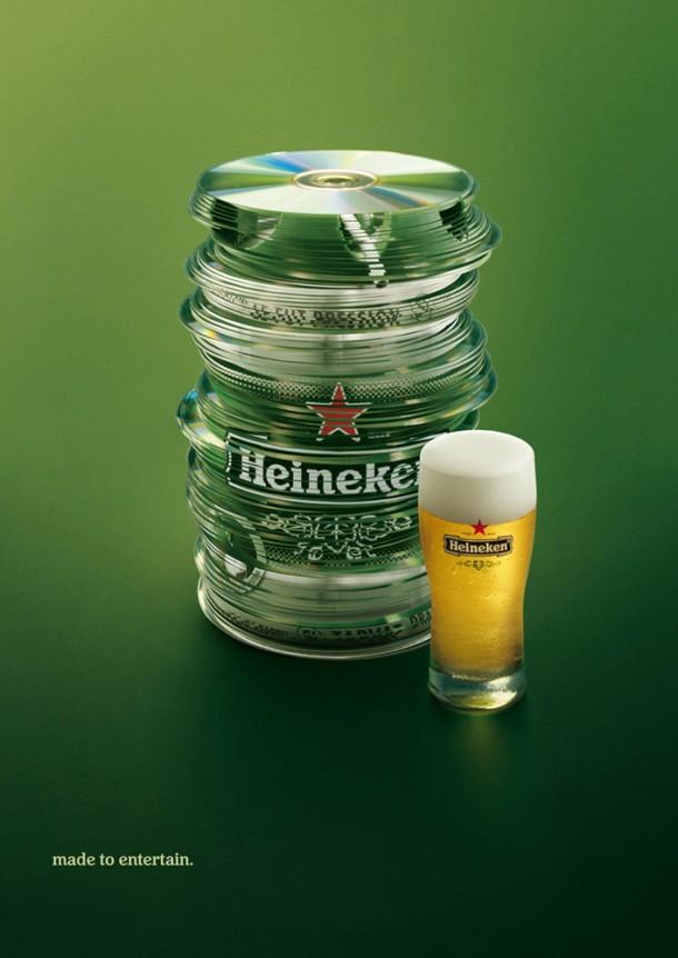 Heineken Draught Keg: CDs, 2008