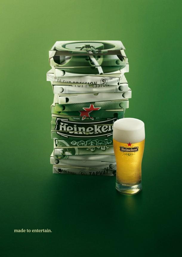 Heineken Draught Keg: Pizzas, 2008