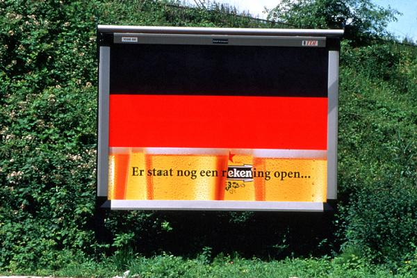 Heineken: Germany flag, 2001