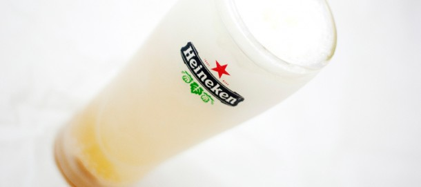 Heineken Glass Freeze #2