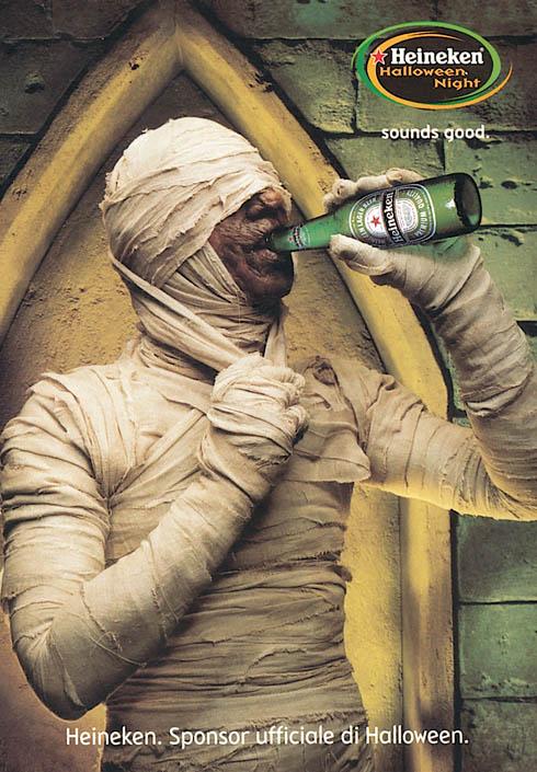 Heineken: mummy, 2003
