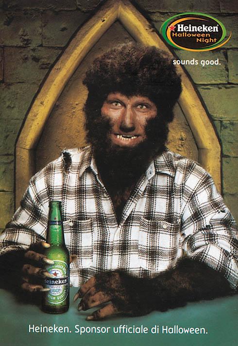 Heineken: werewolf, 2003