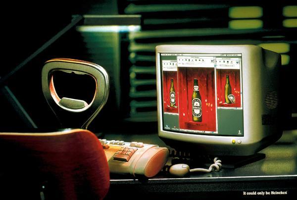 Heineken: Internet, 2001
